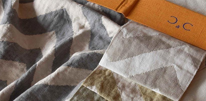 Textile Collection Bert e tessuti C & C sono a vostra disposizione nei padiglioni Burt.