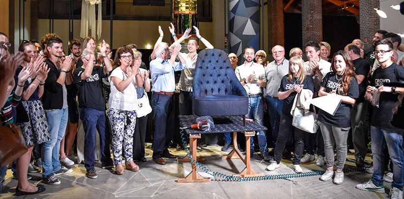 Триста шесть рук для создания кресла ванесса4ньюкрафт