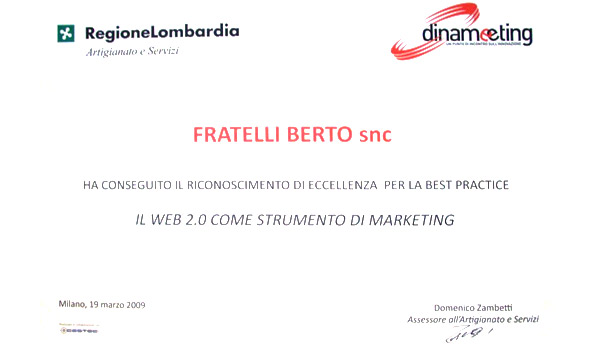 Проект «Dinameeting» : Berto полу