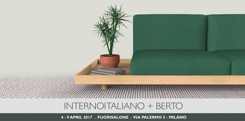 Берто и итальянскийинтерьер представляют диван МЕДА на Фуорисалоне 2017 года