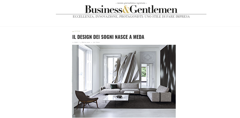 Дизайн Сделано в Меде БертО на сайте Бизнес и Джентльмен