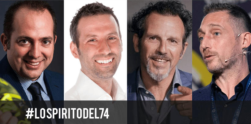 Джермано Ланцони вместе с Филиппо Берто, Маттео Салво и Алессио Бруземини рассказывают  ДУХ74 года