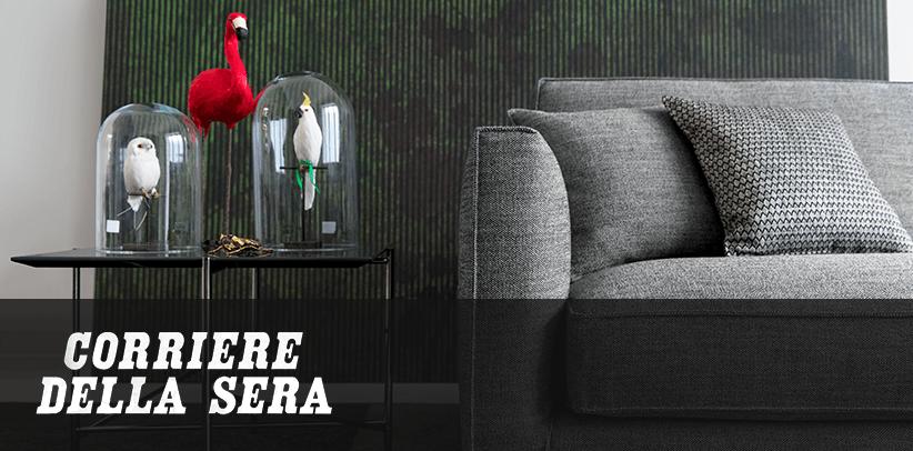 Совершенные ткани для совершенных диванов: дизайн мечты БертО в итальянской газете Корриере делла Сера