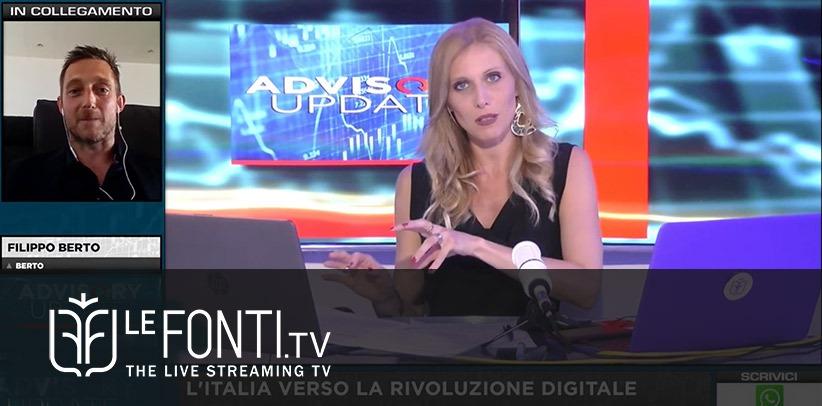 Интервью с Филиппо Берто на Le Fonti TV.