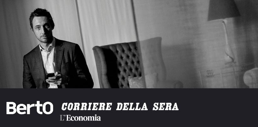 интервью с филиппо берто в приложении экономикa корриере делла сера