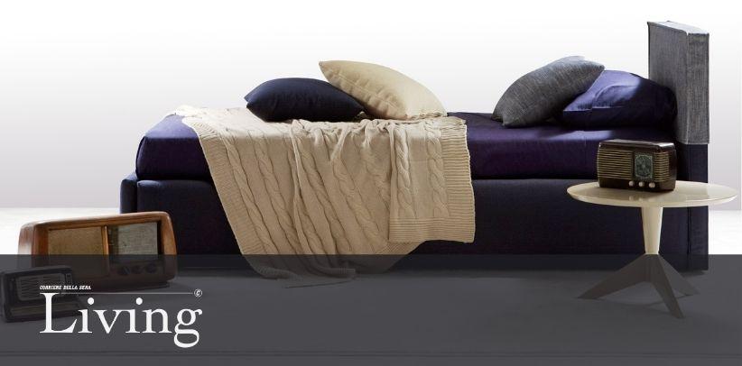Кровать Summer B в новой галерее Ливинг - Корриере делла Сера