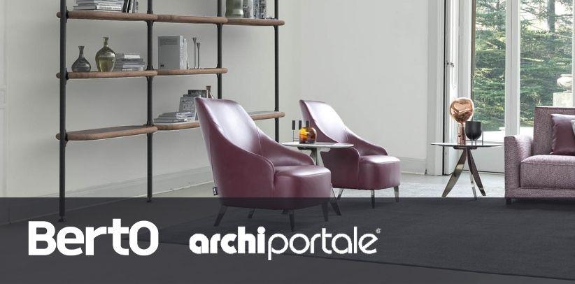 кресло patti и книжный шкаф Ian берто на Archiportale