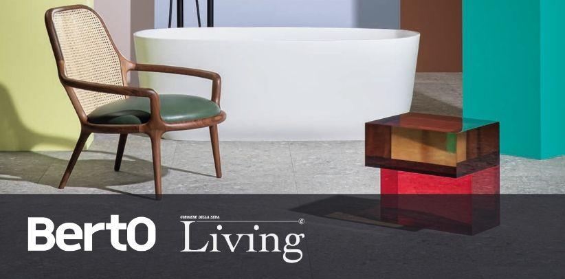 кресло по дизайну патти берто в журнале living корриере делла сера