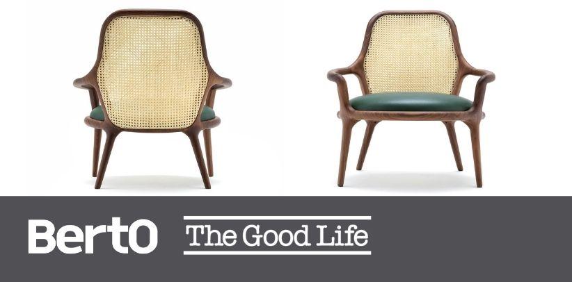 Кресло патти с венской соломкой берто в журнале the good life италия