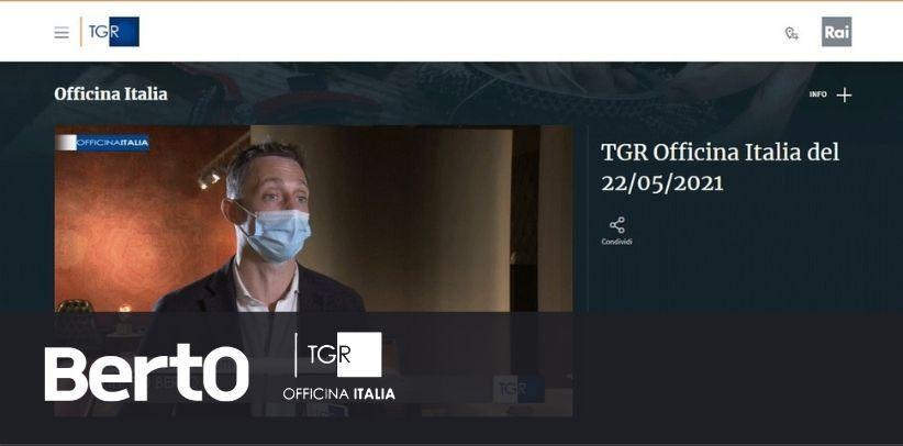 РТН Rai 3 Officina Italia интервью Филиппо Берто