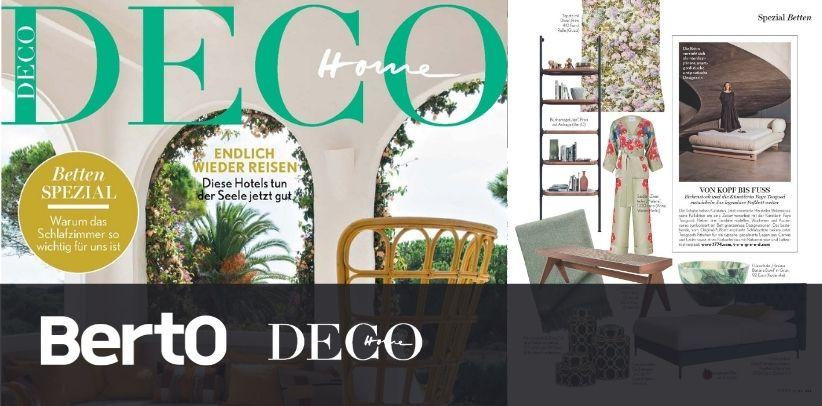 Книжный шкаф Иан БертО в HOME deco в престижном немецком журнале дизайна интерьеров